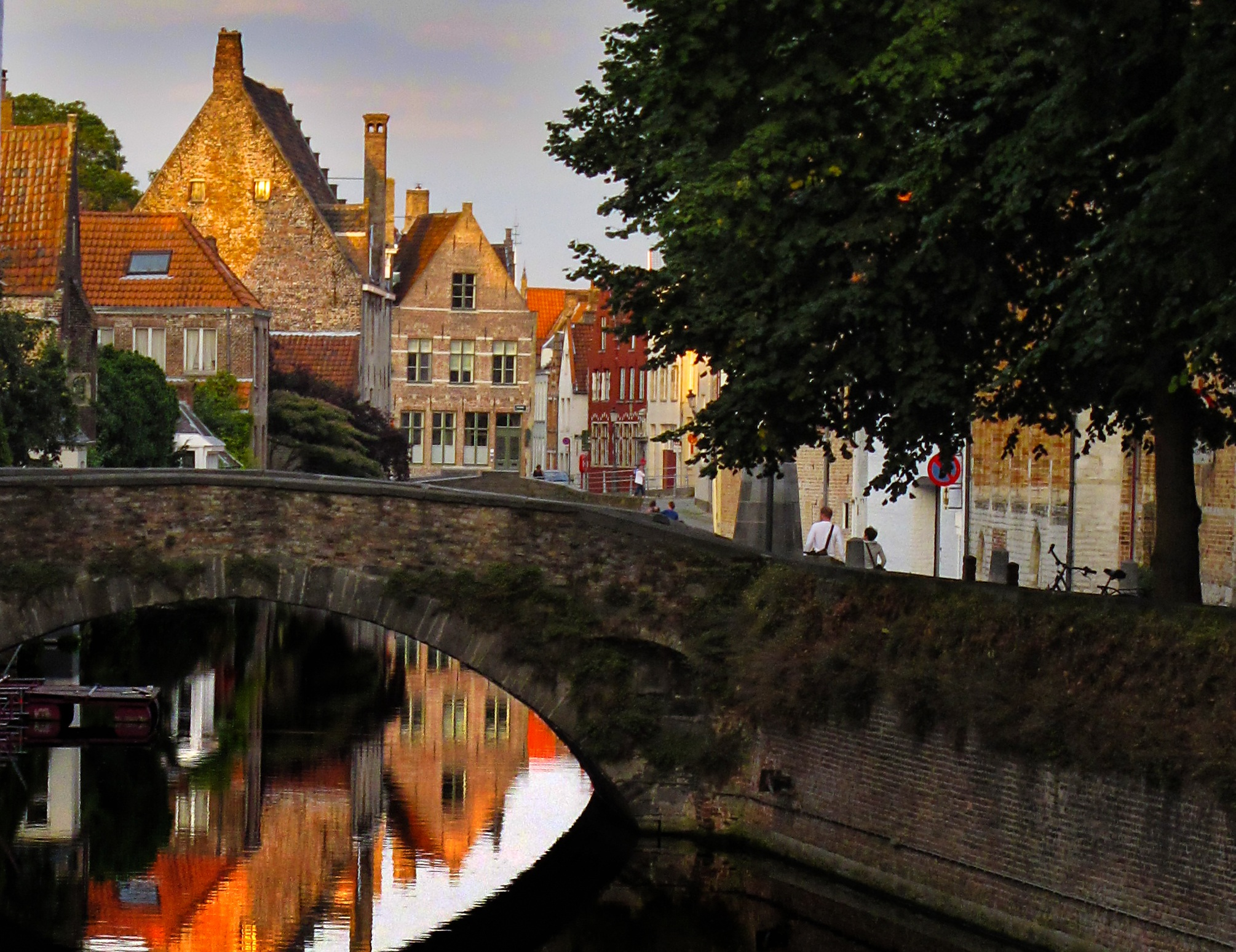 A beer pipeline comes to Bruges