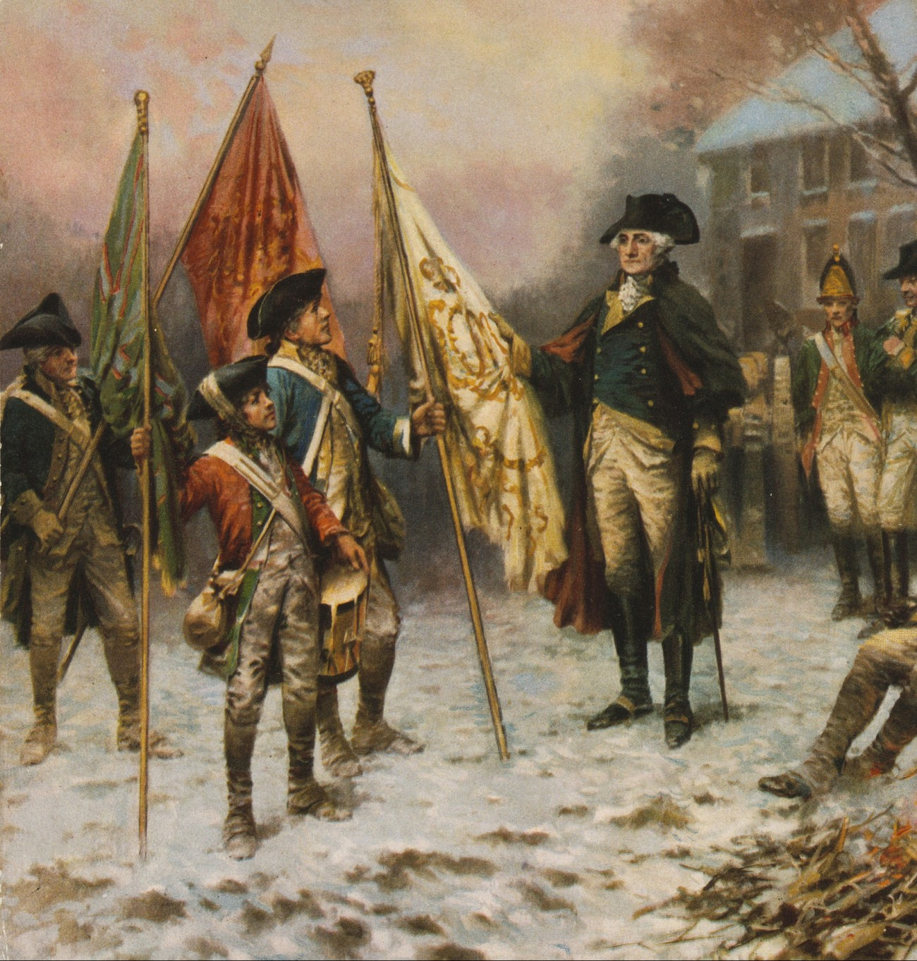 "George Washington's ""vision"" at Valley Forge"