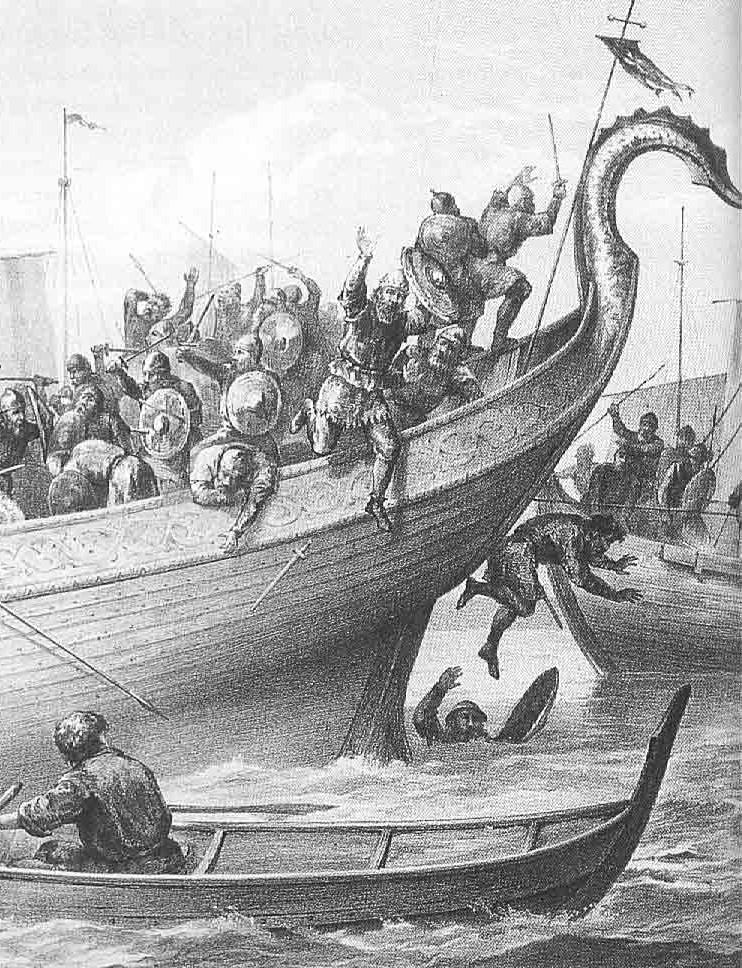 Viking raids on Carolingian land