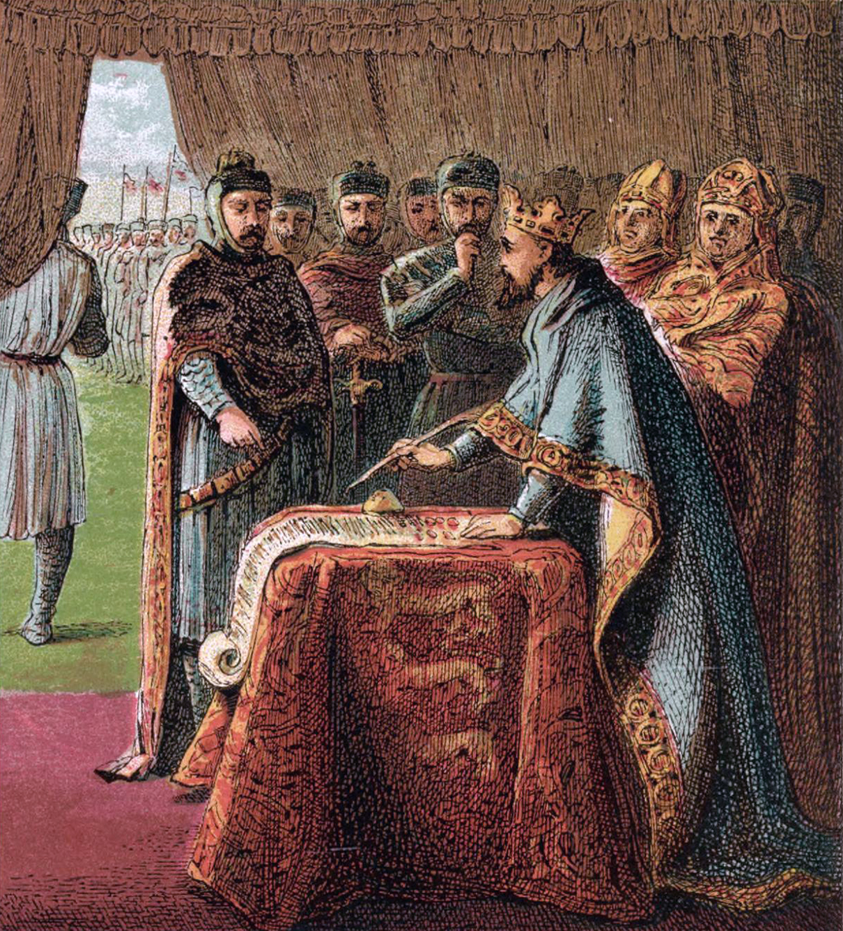 "Today the US Constitution gives a ""H/T"" to the Magna Carta"