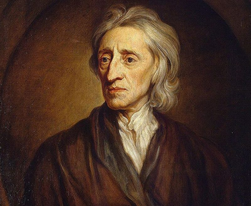 Did John Locke's actions contradict his words?