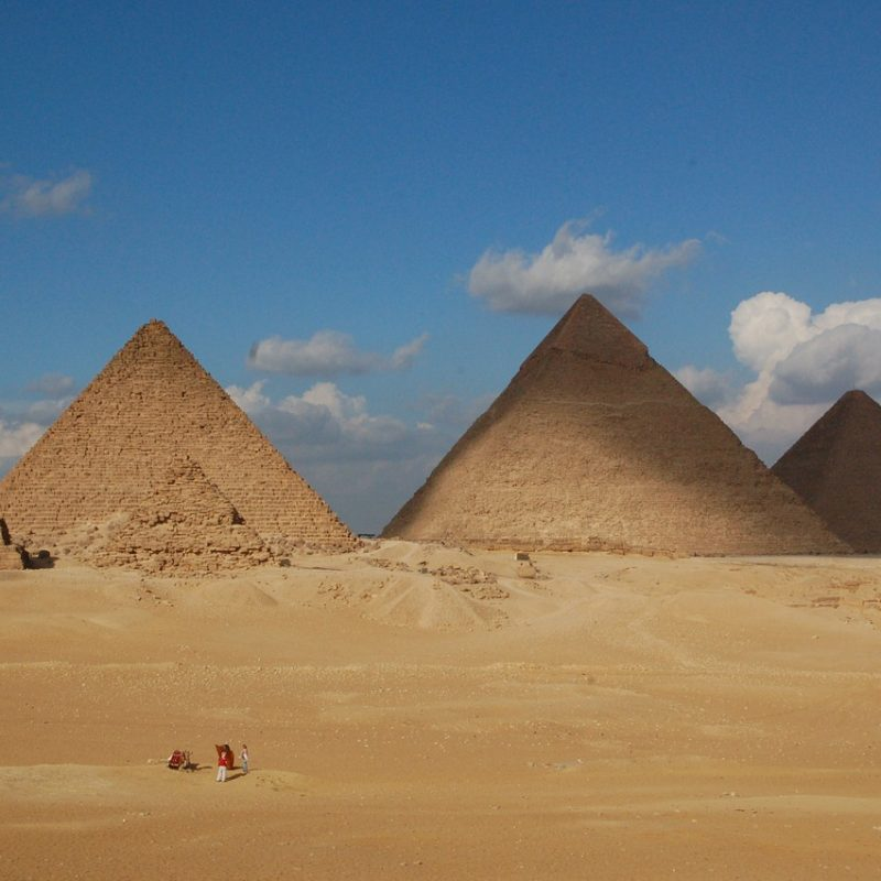 The uncanny precision of the Great Pyramid of Giza