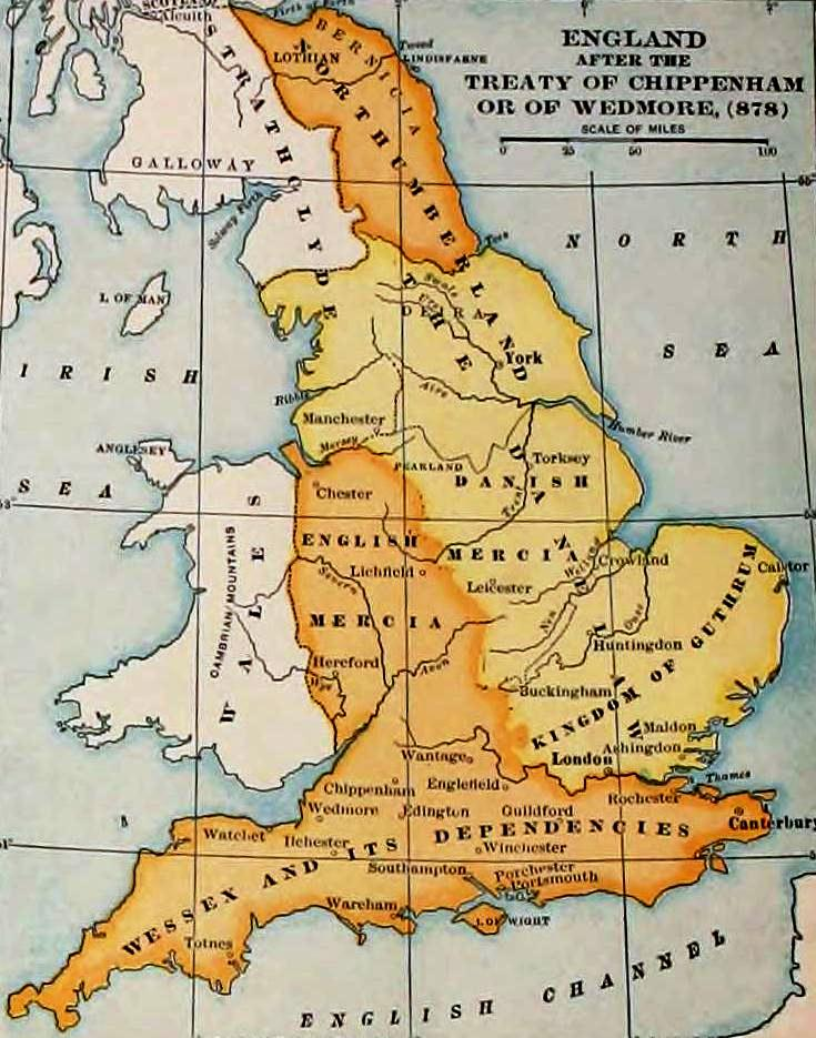 Anglo Saxon Map Of England.Local Government In Anglo Saxon England