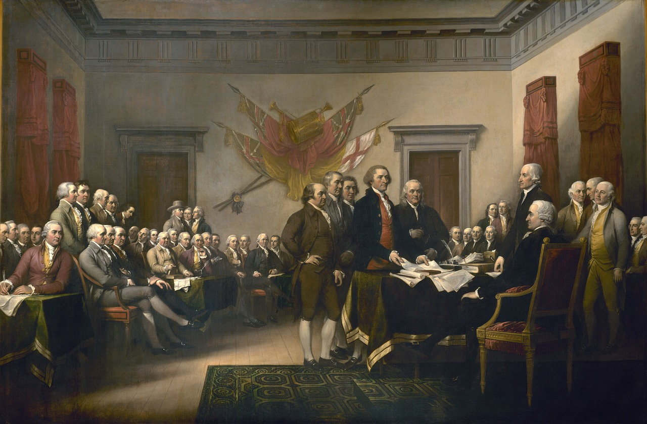 The legality of the Declaration of Independence