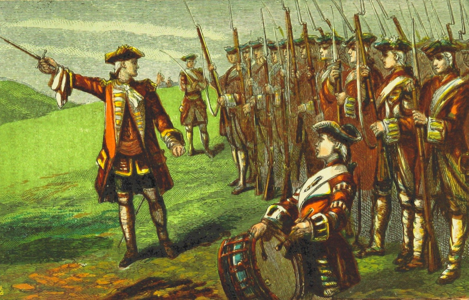 Wolfe at Culloden